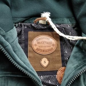 NWT NAKETANO Heavy Velour Jacket Bottrops Belesch This is a
